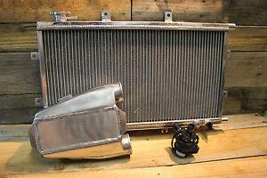 Aluminium Water To Air Intercooler Kit Stumpy Series Type 1