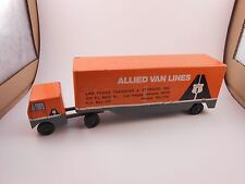 Ralstoy 18 Allied Van Lines diecast toy model semi trailer truck Las Vegas 14C