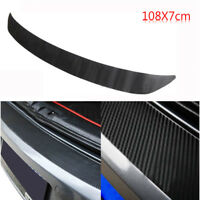 Durable Carbon Fiber Rear Bumper Sticker Trims Protector For VW Golf MK6 GTI R20