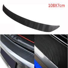 Carbon Fiber Rear Bumper Sticker Trim Protector For VW Golf MK6 GTI R20 108x7cm