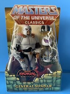 Masters of the Universe Classics General Sundar Princess of Power MOC Complete