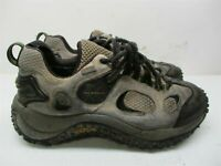 MERRELL Boots Women's Size 7.5 Hiking Trail GORE-TEX Waterproof Gray Leather