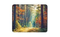 Forest In Autumn In The Morning Mouse Mat Pad - Natural Art Gift Computer #14326