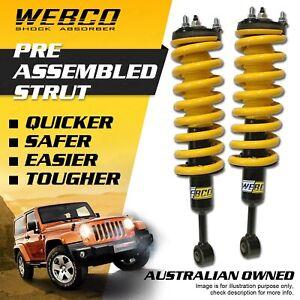 Front 50mm Lift Kit Webco Complete Strut For FOTON TUNLAND 2012-ON