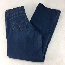 Levi's 512 Womens Ladies Boot Cut Jeans Perfectly Slimming Size 10 Medium