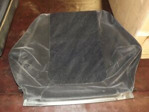 94-97 OEM Acura Integra DC front passenger seat upper cushion cloth cover black