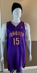 Nike 2001 Original TORONTO RAPTORS Authentic Jersey VINCE CARTER Stitched NBA 52