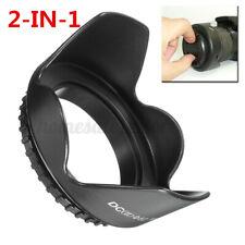 52MM Reversible Petal Flower Lens Hood For Nikon D7000 D5200 D5100 D3200
