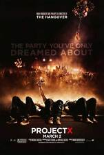 "PROJECT X Movie Poster [Licensed-New-USA] 27x40"" Theater Size (2012)"