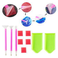 Multi Size Diamond Painting Tools Kit 5D Diamond Embroidery Painting Accessories