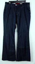 Banana Republic women trouser  jeans size 12 Dark wash indigo blue Boot cut