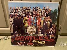 BEATLES: Sgt. Peppers Lonely Hearts Club Band SEALED SMAS 2653 80s LP