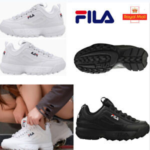 Adults FILA Disruptor II 2 Sneakers Casual Athletic Running Walking Sports Shoes