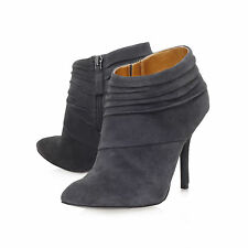 Nine West Women's Suede Stiletto Ankle Boots