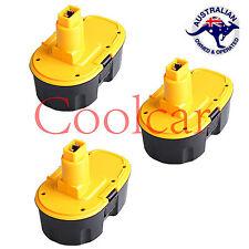 3 Batteries For Dewalt 18V Battery 3.0AH Ni-MH HeavyDuty DE9099 DE9096 6 MTH WRT