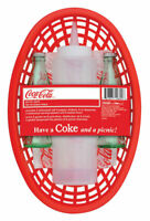 Coca Cola Picnic Pack with Glass Coke Bottle Salt & Pepper Shakers