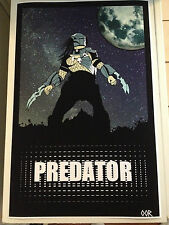 "Predator 17""x26"" movie poster print"