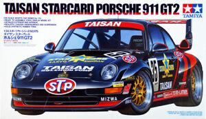 Tamiya Taisan Starcard Porsche 911 GT2 1|24 Scale  Model Kit 24175