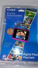 COBY DIGITAL PHOTO KEYCHAIN DP-161 HOLDS UP TO 120 PHOTOS~NEW@@
