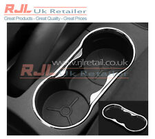 Flexible Abs Plastic Centre Console Cupholder Trim in SILVER fits Mk2 2005-2008