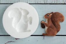 Silicone Mould, Squirrel, Woodland, Animal, Wildlife Ellam Sugarcraft  M0182