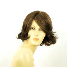 short wig for women chocolate copper wick clear ref: 627c edwige PERUK
