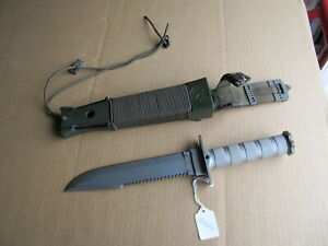 Aitor Jungle King 1 Made in Spain Large Stainless Survival Knife w/ Sheath