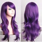 Free Post Fashion Women Long Hair Full Wig Cosplay Curl Wavy Straight Party Wigs