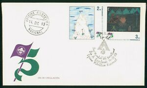 Mayfairstamps Venezuela 1983 Scouts combo First Day Cover wwo1487