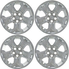 """(4) 2012 FORD EDGE 18"""" CHROME LINERS SKINS HUBCAPS IMP-359XN"""