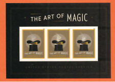 US The Art of Magic SS, a souvenir sheet of 3 stamps ~MNH 2018