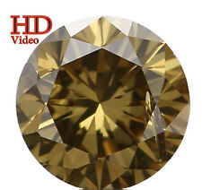 Natural Loose Diamond Round SI2 Clarity Green Color 4.10 MM 0.29 Ct L4892