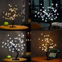 45cm Cherry Blossom Tree 48 LED Twig Light Table Lamp Christmas Decoration Gift