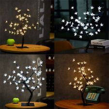 45cm Cherry Blossom Tree 48 LED Twig Light Table Lamp Christmas Decoration Gift