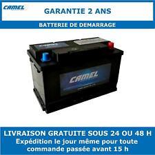 Batterie de Démarrage Camel 58043MF 80Ah 660CCA Garantie 2 Ans