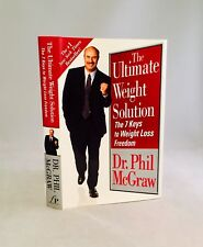 Dr. Phil Autograph!!-Ultimate Weight Solution-Dr. Phil McGraw-SIGNED Book-HC/DJ