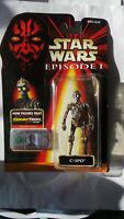STAR WARS EPISODE 1 C-3PO FIGURE WITH COMM TECH CHIP C3P0 PROTOCOL DROID C3PO