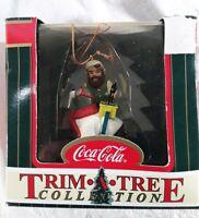 Coke Coca Cola Trim A Tree Collection Elf & Walrus Ornament