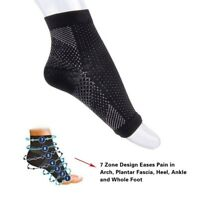 Compression Sock Anti Pain Fatigue Copper Miracle Foot Angel Ankle Sport Sleeve