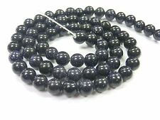 BLAUFLUSS 6mm blau Perlen rund Schmuckperlen 1 Strang