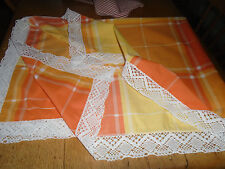 Unbranded Checked & Gingham Rectangular Tablecloths