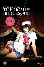 THE HOME OF BURLESQUE 2013 Monatskalender von Carlos Kella, OVP, signiert