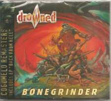 Drowned - Bonegrinder + Back from Hell BR Classic Thrash / Death RARE SEALED!!!!