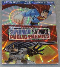 Superman/Batman: Public Enemies - Especial Edición - Blu-ray - NUEVO PRECINTADO