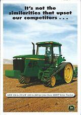 Farm Tractor Brochure - John Deere - 8100T et al - 8000T series - c1997 (F5393)