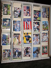 1994 Collector's Choice Baseball Base silver Large Lot Approx 933 Cards