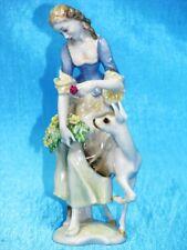 """Hutschenreuther """"Mädchen mit Reh"""" Karl Tutter Figur Figure Figurine um 1965"""