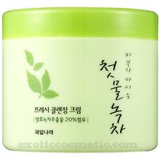 The First Fermented Green Tea Natural Facial Moisturizing Cleansing Cream