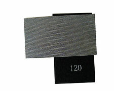Diamond Hand Polishing Pad Strip 120 Grit, Hook and Loop Backed