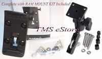 Motorcycle Ram Mount & Bracket for Garmin Zumo 350LM 390LM 395LM GPS-10962 11843
